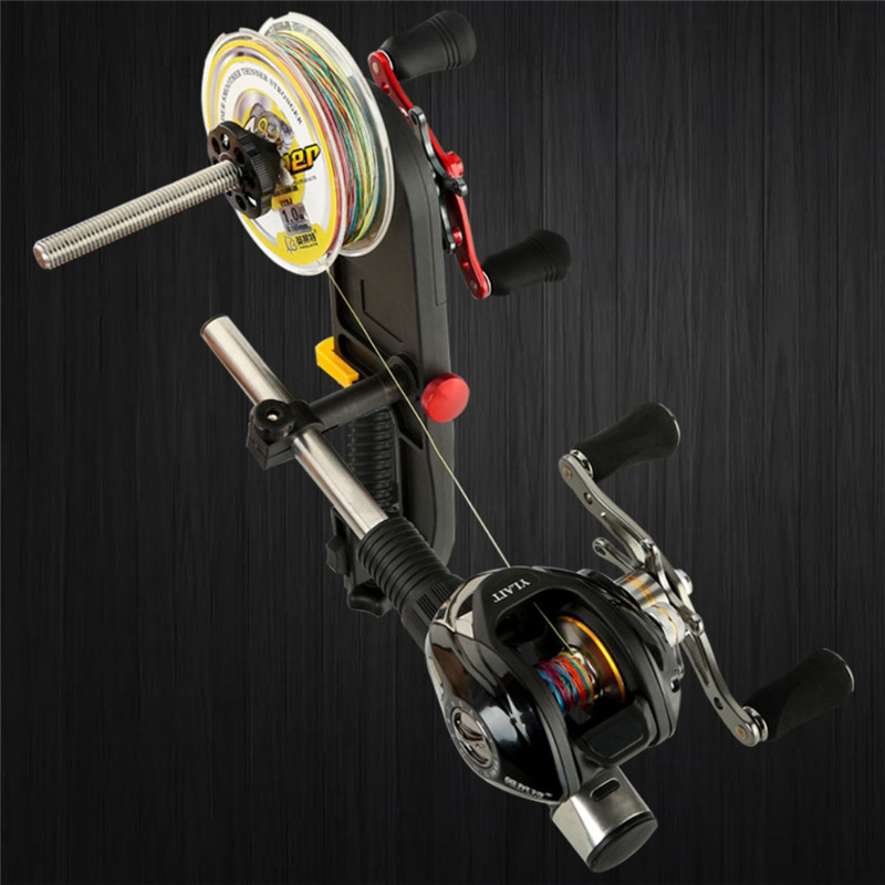 Fishing Line Spooler Spooling Station System Machine Multifunction Spooler Fishing Line Winder Outdoor Fishing Accessories New