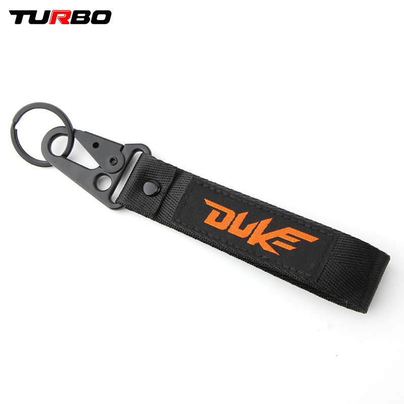 Motorcycle Embroidery Keyring Keychain for KTM Duke 125 390 690 200 790 RC390 990 1190 1090 1290 1190 1050 Adventure