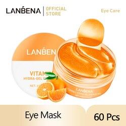LANBENA Eye Mask Collagen Eye Patch Skin Care Retinol Anti Aging Remove Dark Circles Eye Bag Hyaluronic Acid Gel Moisturizing