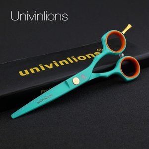 "Image 3 - 5.5"" japan professional hair scissors set hairdressing barber salon tesoura thinning shears cutting tool stainless steel stylist"