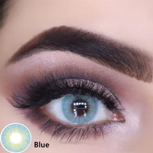 2pcs/1Pair myopia Prescription Gray Color Contact Lenses Polar Lights Seriers Eye Contacts Color Lens Yearly UYAAI