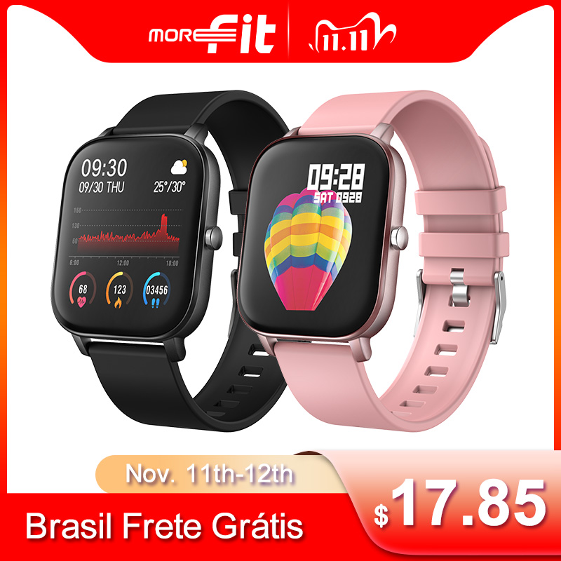 Original P8 Smart Watch Men Women Fitness Tracker 1 4 Inch Full Touch Heart Rate Blood Pressure Waterproof Smartwatch PK W26