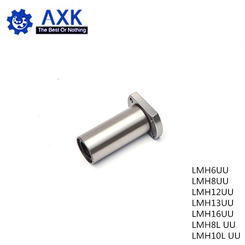 Linear Motion Bearings Ball Bushing for CNC Parts 1 pcs of LMH8LUU 8 mm H Flange