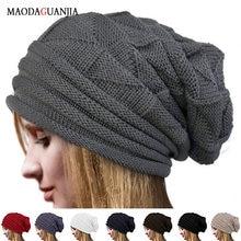 Leosoxs зимние складные вязанные шапки с отворотами шапка теплая