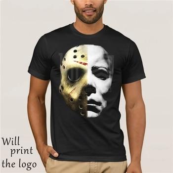 Horrorable di Film di Halloween Michael Myers Maschera di T Camicia Venerd il 13th Jason Mike Viso T Camicia Intero