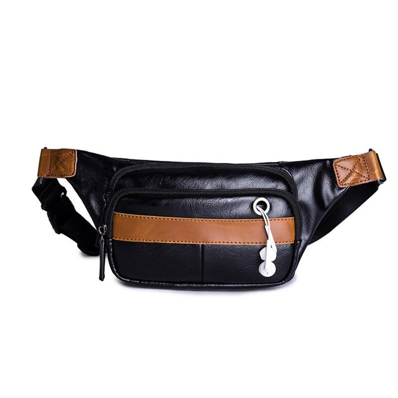 New Chest Bag Men's Messenger Bag Fashion Leisure Sports Shoulder Bag Pockets