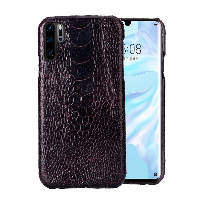 Телефон чехлы для huawei P10 P20 P30 Lite Коврики 9 10 20 lite Pro Чехол страуса стопы текстура чехол для Honor 8X9 10 V20 P Smart Case - 2