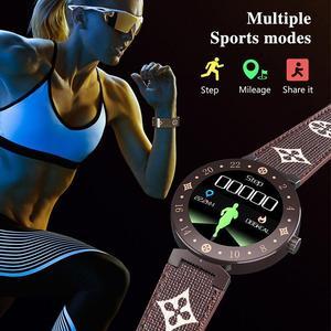 Image 4 - R88S ファッションスマートウォッチ防水ウェアラブル機器フィットネストラッカー心拍数モニタースポーツ時計男性女性スマートウォッチ