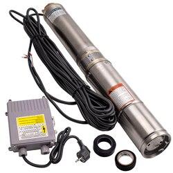 """4 """"370 W studnia głębinowa zatapialne pompa wodna 6000 L/H Long Live + 20m kabel dobrze ze stali nierdzewnej 6000L/H -"""