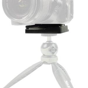 "Image 5 - 퀵 릴리스 플레이트 dslr 카메라 렌즈 삼각대 플레이트 1/4 ""나사 모노 포드 퀵 릴리스 플레이트 클램프 어댑터 사진 액세서리 QRA 635L"
