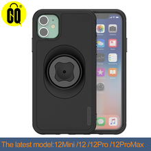 Phone case Bicycle Phone Holder with Quick Mount Case for iphone 12 pro Max MINI SE 2020Bike Mount Black