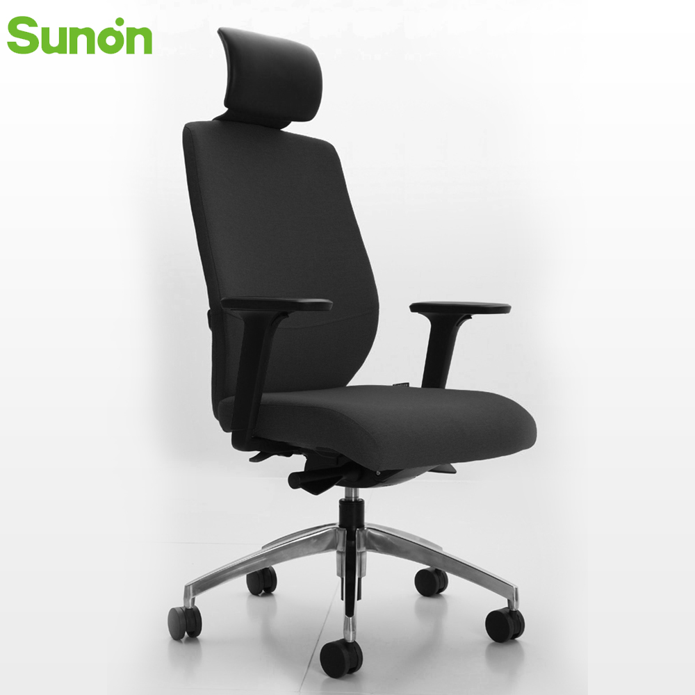 Hot Sale High Quality Fabric Adjustable Office Chair Staff Chairs Fixed Armrest