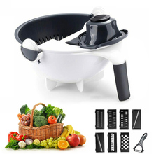 Get more info on the 2 in 1 Vegetable Cutter Grater Fruits Washing Drainer Basket Food Grade PP Potato Slicers Peelers Kitchen Gadgets Accessories