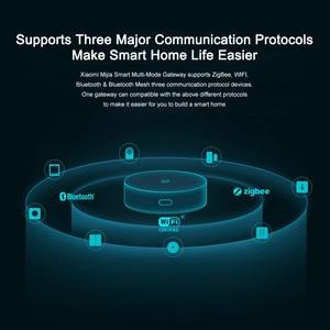 Image 4 - Xiaomi Mijia Multi Mode Smart Gateway Voice Afstandsbediening Automatisering Werken Met Zigbee Wifi Bluetooth Mesh Smart Linkage Apparaten