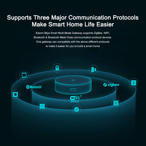 Image 4 - Xiaomi Mijia Multi Mode Smart Gateway Voice Remote Control Automation work with ZigBee WIFI Bluetooth Mesh Smart Linkage Devices