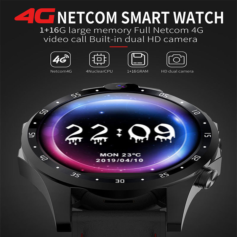 2019 Fashion <font><b>4G</b></font> GPS Man Woman Smart <font><b>Watch</b></font> with Heart Rate Monitor ECG <font><b>Blood</b></font> <font><b>Pressure</b></font> IP68 Fitness Tracker Wrisatband SmartWatch image