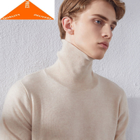 Winter Wool Men Clothes 2020 Brand Cashmere Turtleneck Pullover Man Casual Warm Pull Homme Mens Sweater MR9202