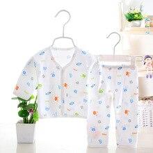Pants Underwear Animal-Print Shirt Newborn-Baby Girls Boys Unisex And 2PCS Cotton 0-3M