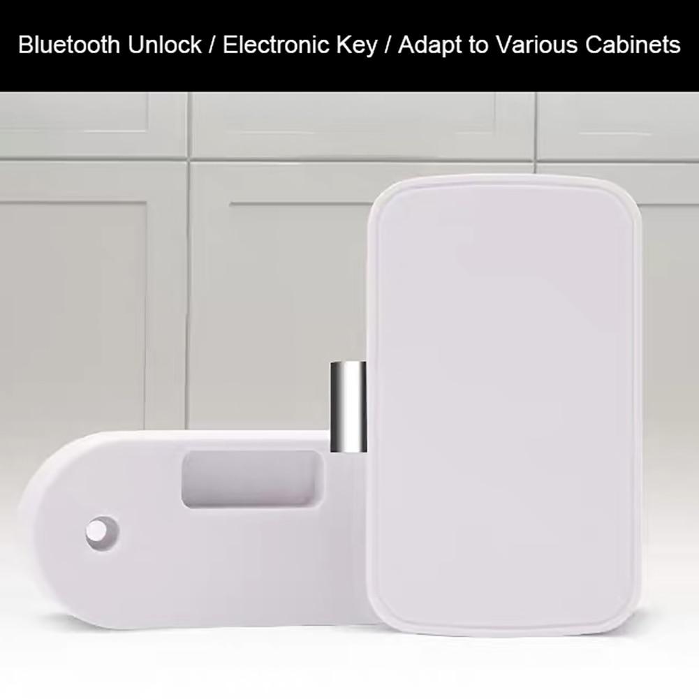 New Type Intelligent Electronic Bluetooth Lock Wireless App Control File Lock Shoe Storage Cabinet Lock Drawer Furniture Lock