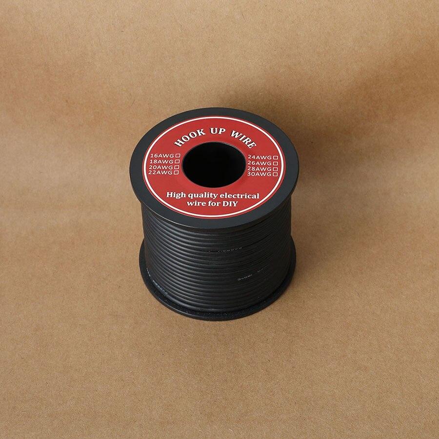 UL3239 16 AWG многожильный провод Hook-up гибкий электрический провод с силиконовой оплеткой резиновой изоляцией Луженая Медь 3000V безопасный ток 12.7A