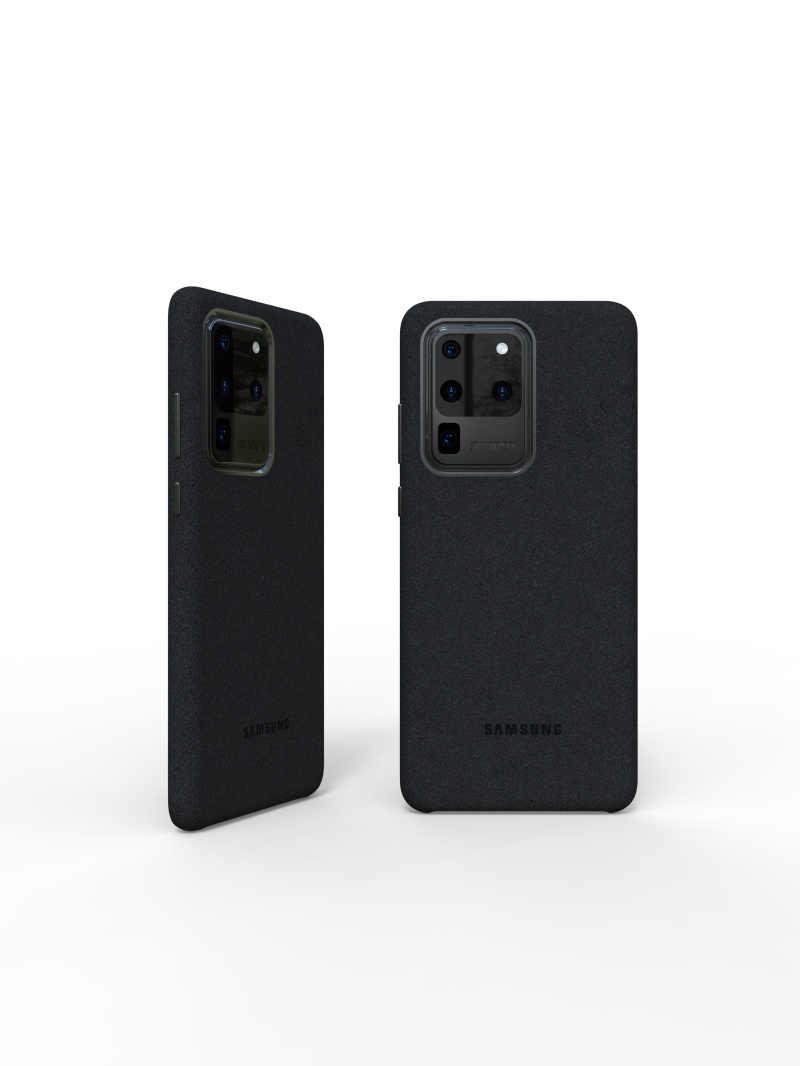 100% Origineel Echte Samsung S20 Ultra Case Voor Galaxy S20Plus S20 + Alcantara Cover Leather Premium Full Bescherm Cover 5 kleur