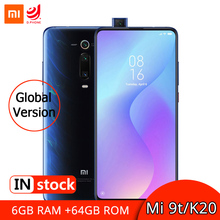 Globale Version Xiaomi Mi 9 T 9 T 6GB 64GB NFC Smartphone Snapdragon 730 Octa Core 6.39 AMOLED AI Hinten Pop up Kamera 4000mAh