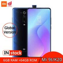 글로벌 버전 Xiao mi Mi 9 T 9 T 6GB 64GB NFC 스마트 폰 금어초 730 Octa Core 6.39 amoled AI 후면 팝업 카메라 4000mAh