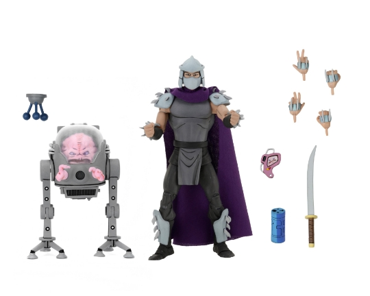 Neca 2pcs A Set US Actions Cartoon Figures Shredder Krang BOSS Turtles Toys For Children Birthday Gift