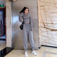 Fashion Three Piece Womens Suit 2019 New Spring And Autumn Summer Loose Casual Vest Pants Sexy 2 Set Female