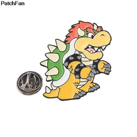 Buy A3058 Patchfan Cute Cartoon Tortoise Pins Metal Badges Brooch Lapel Pin For Women Men Clothes On The Backpack Accessory Jewelry — stackexchange