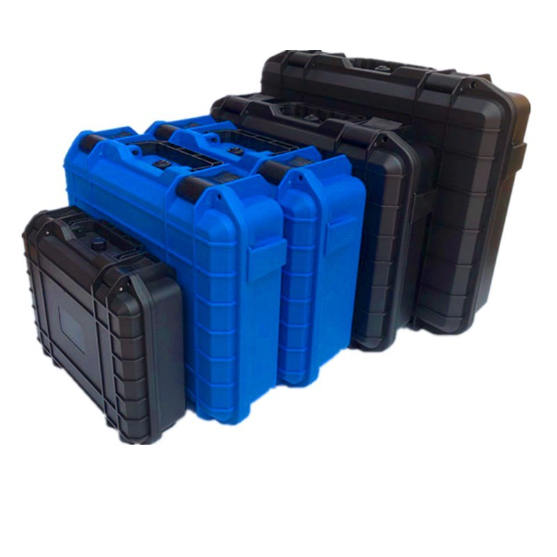 ABS Plastic Safety Equipment Instrument Case Portable ToolBox Dry Box Impact Resistant Tool Casewith Pre-cut Foam