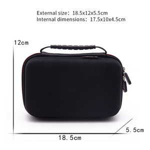 Image 3 - New 3DS XL / 2DS XL Carrying Case Bag Hard Travel Protective Shell Nintendo Console Game Zipper Travel Storage Bag Pouch Sleeve