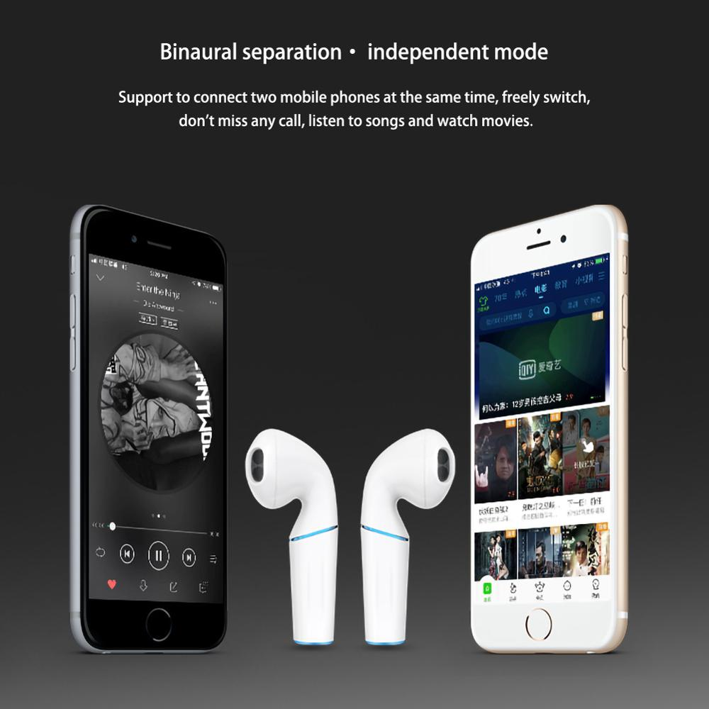 P20 Tws Wireless Bluetooth Earphone 5.0 Touch Stereo Earbud Bluetooth Headset Charging Pod Wireless Headsets For All Smart Phone