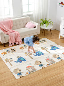 Baby Mat Game-Blanket Play-Mat Foam-Pad Foldable Infant Shining XPE 1CM 150x200x1cm Parlor