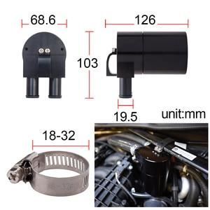 Image 5 - Billet Oil Catch Can Reservoir Tank Universal Oil container Baffled Aluminum For BMW  N54 335i 535i E90 E92 E82 OCT 1124 BK