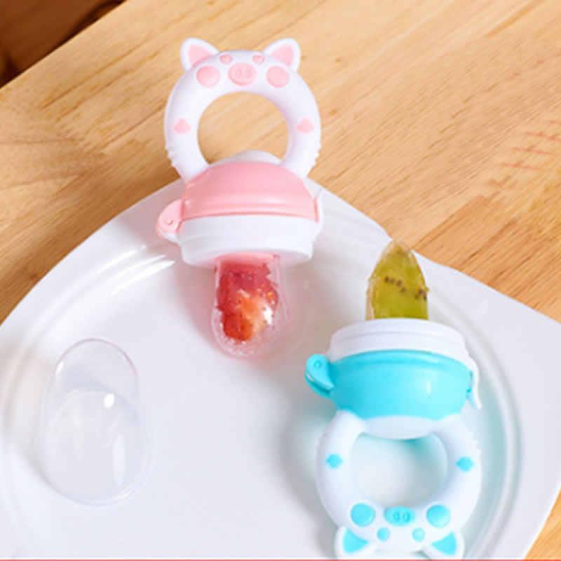 อาหารสดอาหารผลไม้และผักเพลงอาหารกินผลไม้บด Stick เด็กทารก 6-12 เดือนเสริมอาหารกระเป๋า Teether