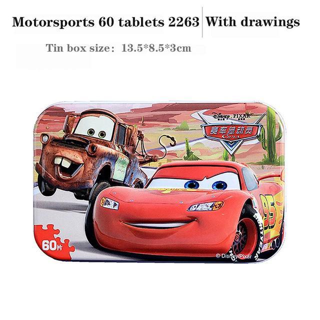 Frozen Jigsaw Puzzle Special Sale Children's Wooden Toy Car, Children's Toy Puzzle, 60 Piece Children's Wooden Puzzle