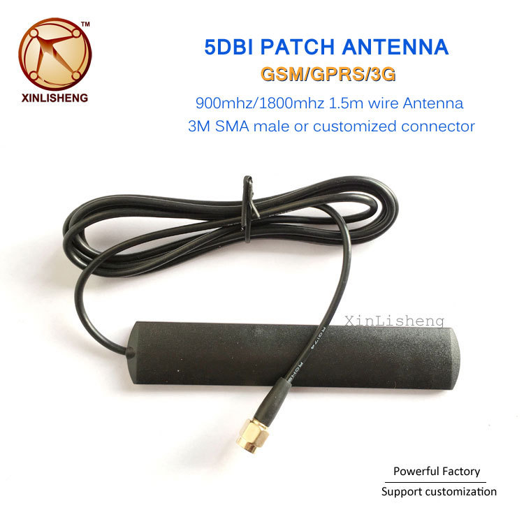 High Gain 5db Directional Gprs Gsm Patch Antenna 3g 4g Lte 433mhz Antenna With Sma Connector Wifi Antena Mimo 4g Antenna Yagi