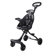 Baby stroller foldable portable two-way stroller four-wheel high-view child stroller artifact travel lightweight carry