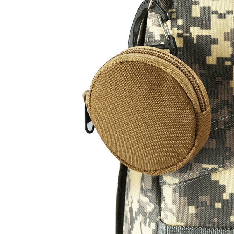 Portable Storage Bag Army Fans Outdoor Camping Keychain Holder Case Waist Pack Tactical Purse Wallets Pouch Bags