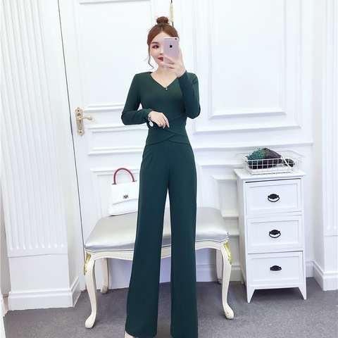Women New arrival Clubwear Slim  High Waist  Bodycon Party Office Lady Jumpsuits Rompers Lahore