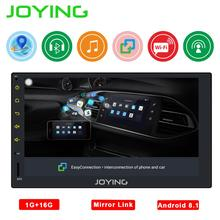 Joying 2Din Android GPS Car Stereo Radio 7 Multimedia Player 2din Autoradio Mirror Link Wifi Support RearCamera Glonass