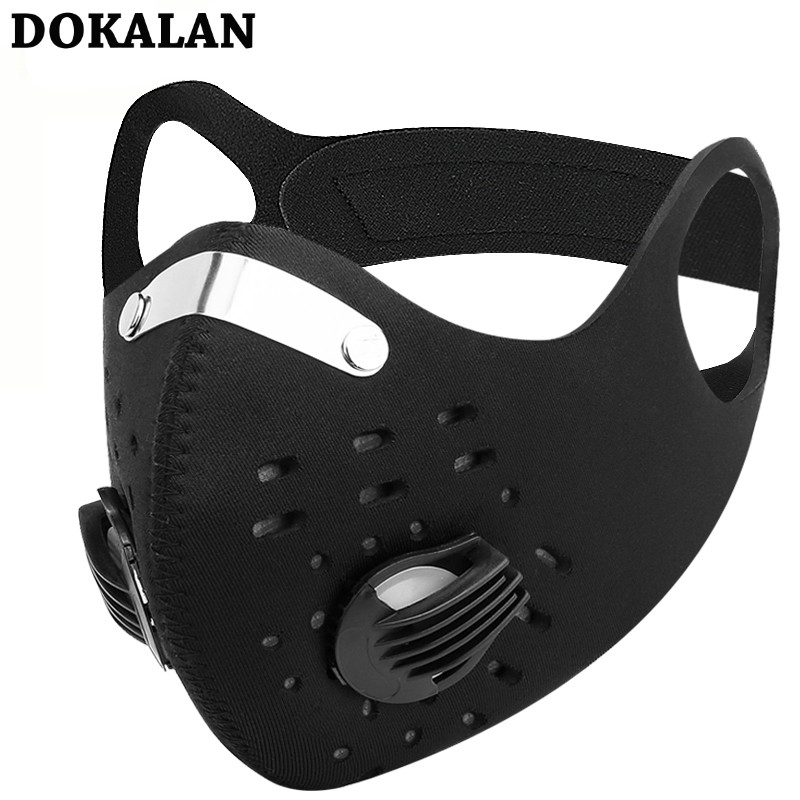 2020 Sports Mask Mouth Masks Sport Cycling Face Mask Pollution Filters PM2.5 Mascarillas Dust Mascherine Mascaras Mascarilla