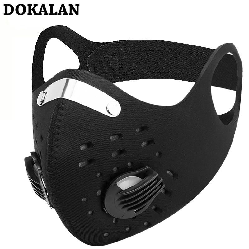 2020 Sports Mask Mouth Masks Sport Cycling Face Mask Pollution Filters PM2.5 Mascarillas Dust Mascherine Mascaras Mascarilla