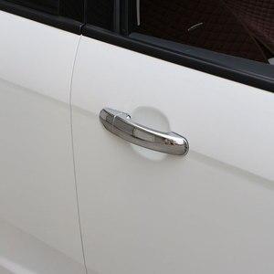 Image 3 - Carmilla ABS 크롬 자동차 도어 핸들 커버 트림 포드 포커스 2 MK2 II 포커스 3 MK3 III 4 MK4 C Max Kuga 탈출 스티커