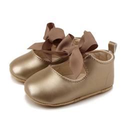 От 0 до 18 месяцев; мягкая искусственная кожа; принцесса обувь лук; повязки; младенческой ходунки; новорожденных; обувь для маленьких девочек;