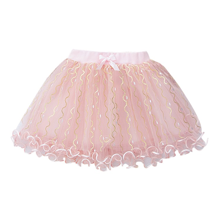 Light Pink Dress Full Skirt Girl Pettiskirt Soft Fur Shawl Coat Jacket 2PC 1-8Y