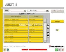 Jungheinrich SH + יהודית 4 אבחון תוכנה + ET חלקי קטלוג (v4.35 + 4.36)+ לא פג + סדק עבור MULT מחשב להתקין