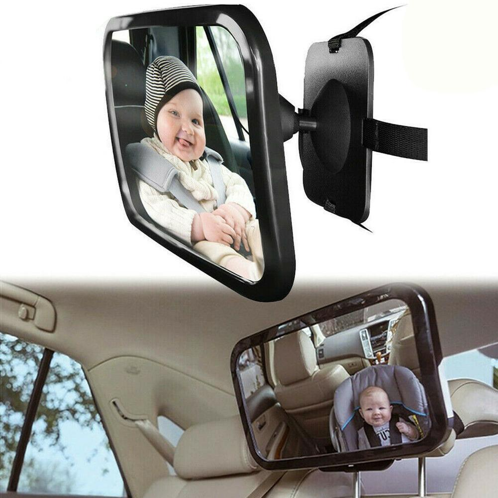 Child Adjustable Car Rear-seat Rearview Mirror Baby Accessories Seats Mirror Seats Safety Rear Observation G9D5