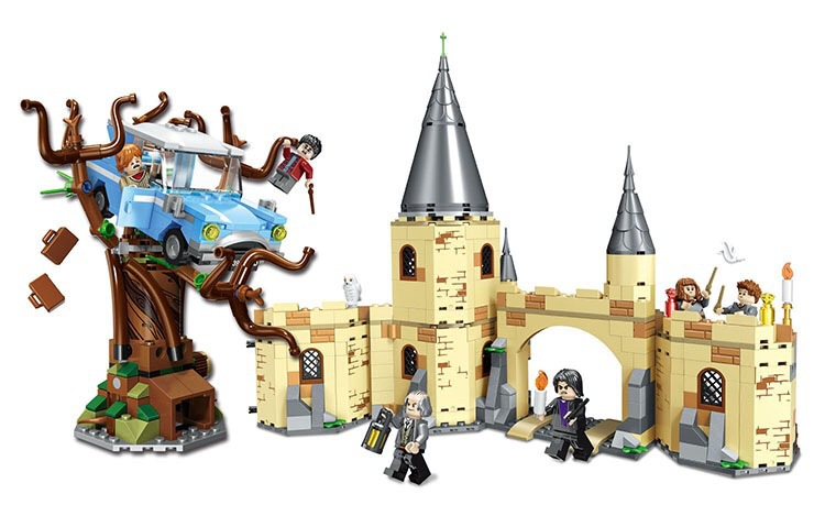Image 2 - 39147 536pcs Figures 75956 Brick Toys for Children Harri Potter Magic Quidditchs Match Model Compatible with Legoings 11004-in Blocks from Toys & Hobbies